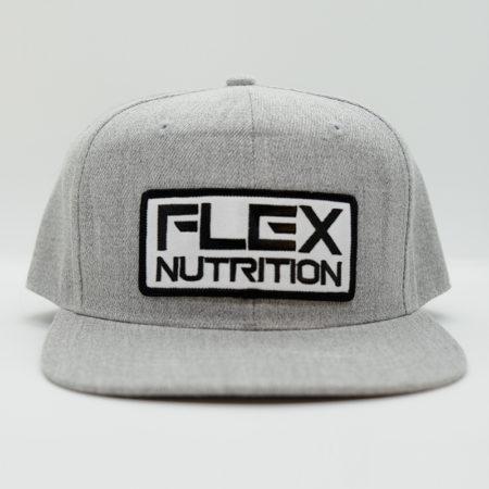Flex Nutrition grå keps fram flat